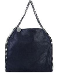 Stella McCartney Large Blue Falabella Tote Bag - Blauw