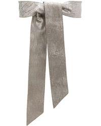 Orciani - Wide Tie Belt - Lyst