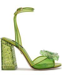 Dolce & Gabbana Босоножки Keira - Зеленый