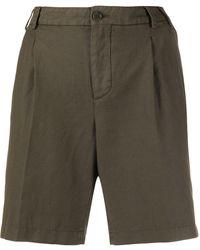 Aspesi Wide Leg Shorts - Green