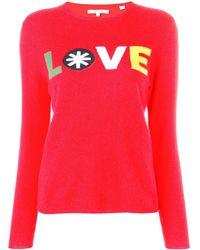 Chinti & Parker - Love Knitted Sweatshirt - Lyst