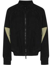 Rhude パネル ジップジャケット - ブラック