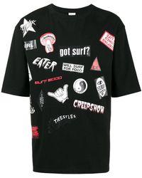 EX Infinitas - T-Shirt mit 'Sticker'-Prints - Lyst