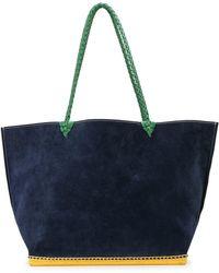 Altuzarra Large Espadrille Tote Bag - Blue