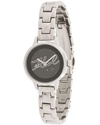 Karl Lagerfeld Часы Karl Signature - Металлик