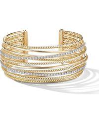 David Yurman 18kt Geelgouden Armband - Metallic