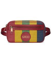 Gucci - Baiadera ストライプ ベルトバッグ - Lyst