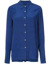 Proenza Schouler - Dot Print Crepe De Chine Button Down - Lyst