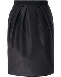 Giambattista Valli Gathered Waist Skirt - Zwart