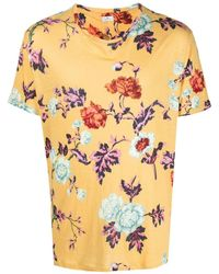 Etro フローラル Tシャツ - イエロー