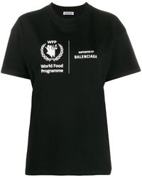 Balenciaga World Food Programme Tシャツ - ブラック