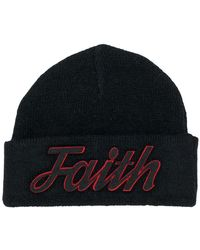 Faith Connexion - Beanie mit Logo-Patch - Lyst
