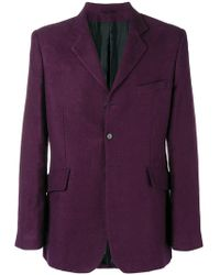 Ann Demeulemeester - Tailored Blazer - Lyst