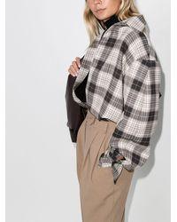 ANOUKI オーバーサイズ チェック シャツ - マルチカラー