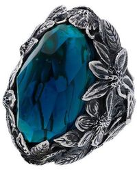 Lyly Erlandsson - Anillo Winter Shell - Lyst