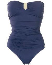 Brigitte Bardot | Draped Swimsuit | Lyst
