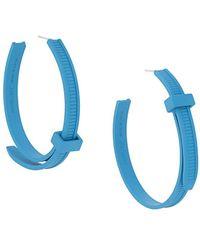 Ambush Boucles d'oreilles à collier de serrage - Bleu