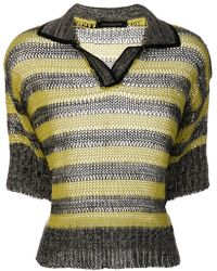 Piazza Sempione - Knitted Polo Shirt - Lyst