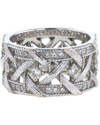 Dior 2010s Pre-owned White Gold Dior My Dior Diamond Ring - Metallic