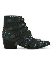 Toga Pulla - Studded Western Boots - Lyst
