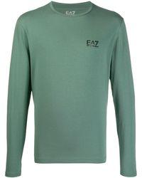 EA7 - ロゴ ロングtシャツ - Lyst