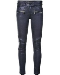 Barbara Bui - Leather Motorbike Trousers - Lyst