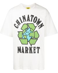 Chinatown Market Recycle Global Tシャツ - グリーン