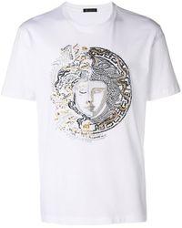 Versace メデューサ Tシャツ - ホワイト
