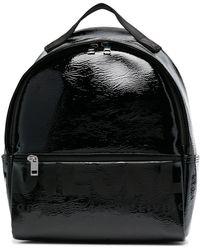 DIESEL ロゴ バックパック - ブラック