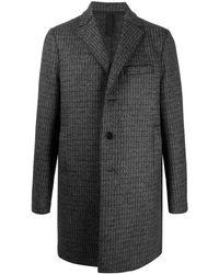 Harris Wharf London シングルコート - グレー