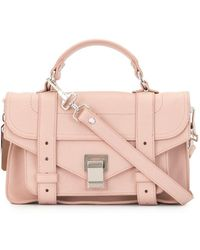 Proenza Schouler - Сумка-сэтчел Ps1 Tiny - Lyst