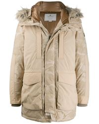 Woolrich - Hooded Military Parka Coat - Lyst