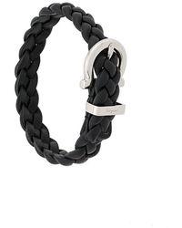 Ferragamo - Woven Buckle Bracelet - Lyst