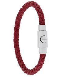 Ferragamo - Armband mit Flechtmuster - Lyst