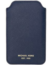 MICHAEL Michael Kors Iphone 5 ケース - ブルー