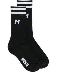 MSGM Носки С Логотипом - Черный