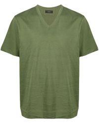 JOSEPH Vネック Tシャツ - グリーン