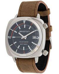 Briston Clubmaster Diver Horloge - Bruin