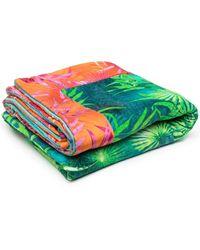 Versace Полотенце С Принтом - Зеленый