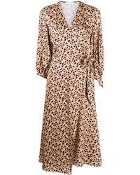 Chinti & Parker フローラル ドレス - マルチカラー