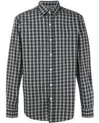 Hardy Amies - Madras Checked Cotton Shirt - Lyst