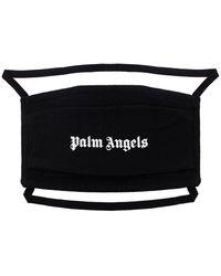 Palm Angels ロゴ マスク - ブラック
