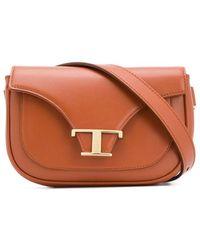 Tod's T-logo Belt Bag - Brown