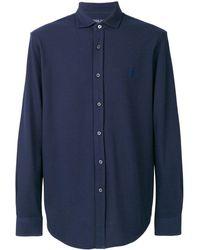 Polo Ralph Lauren Embroidered logo shirt - Bleu