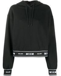 MSGM - Худи С Логотипом - Lyst