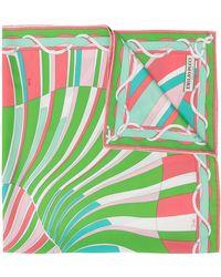 Emilio Pucci Sjaal Met Print - Groen