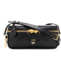 Tom Ford Metro Cross Body Bag - Black