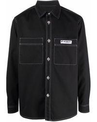 MISBHV ロゴパッチ シャツジャケット - ブラック