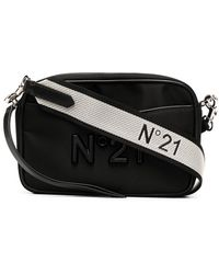 N°21 Поясная Сумка С Логотипом - Черный