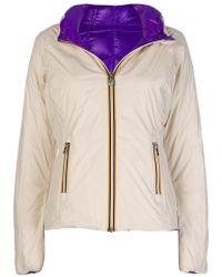 K-Way - Lily Padded Jacket - Lyst